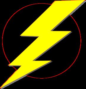 Storm Black Yellow Clip Art