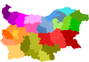 Map Nuts3 Bulgaria Clip Art