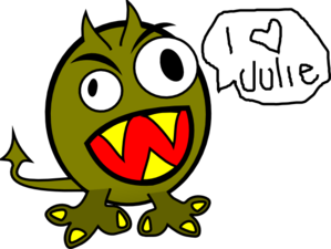 Julies Monster Clip Art