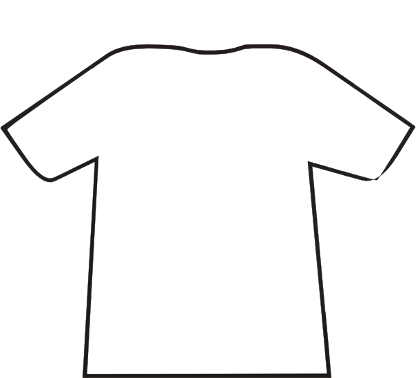 football t shirt cake template - blanktshirt clip art at vector clip art online