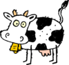 Cartoon Cow Clip Art