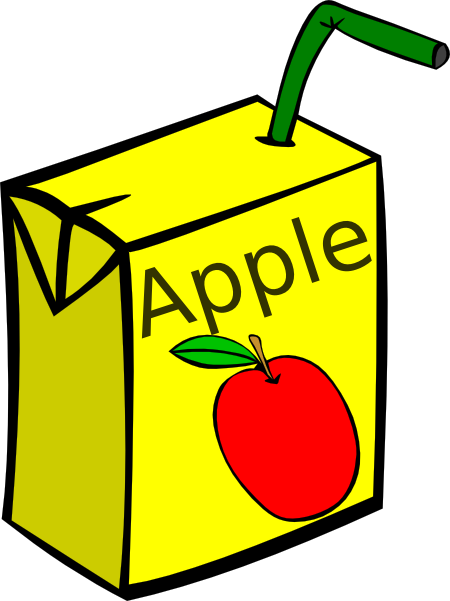 Apple Juice Box Clip Art at Clker.com - vector clip art ...