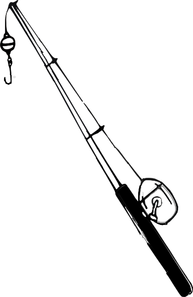 Fishing Rod & Reel Clip Art at Clker.com - vector clip art ...