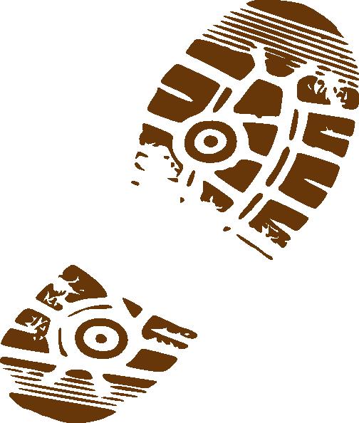 shoe print clip art at clker com vector clip art online royalty rh clker com boot print images clip art free boot print clip art free