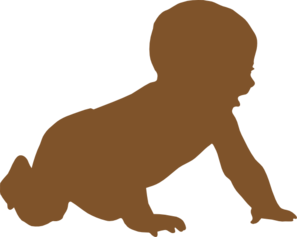 Baby Silhouette Clip Art