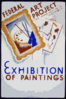 Exhibition Of Paintings - Federal Art Project Works Progress Administration, Illinois Clip Art