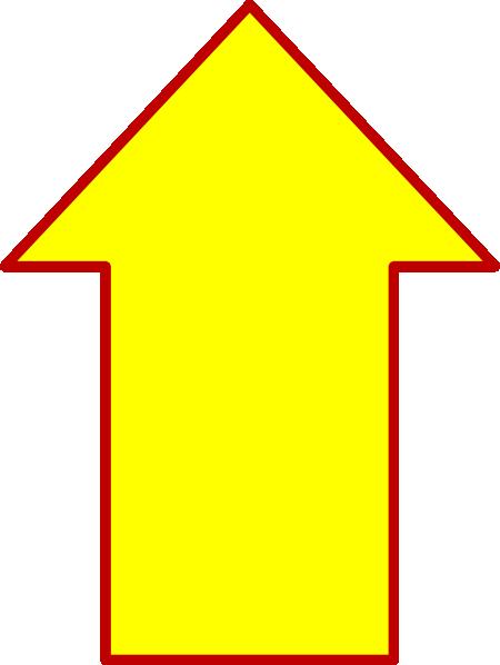 Up Yellow Arrow Clip Art At Vector Clip Art