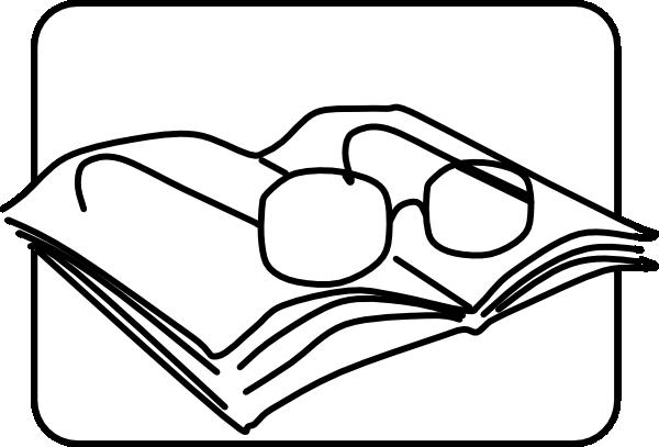 Reading Glasses Clip Art At Clker Com Vector Clip Art