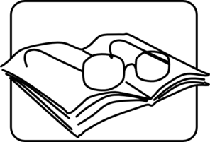 Reading Glasses Clip Art