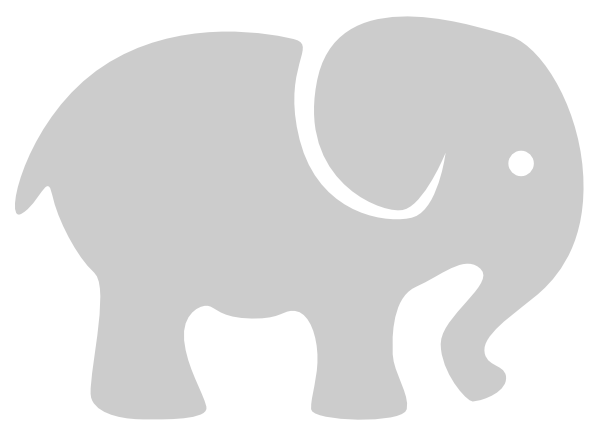 Elephants On Pinterest Elephant Stencil Elephant