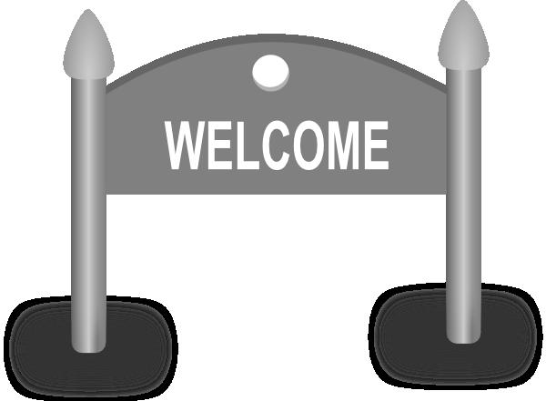 Welcome Sign Clip Art at Clker.com - vector clip art ...