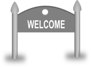 Welcome Sign Clip Art