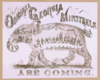 Original Georgia Minstrels Are Coming Clip Art