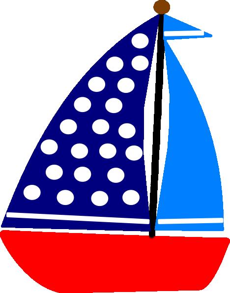 Sail Boat Clip Art at Clker.com - vector clip art online, royalty free ...