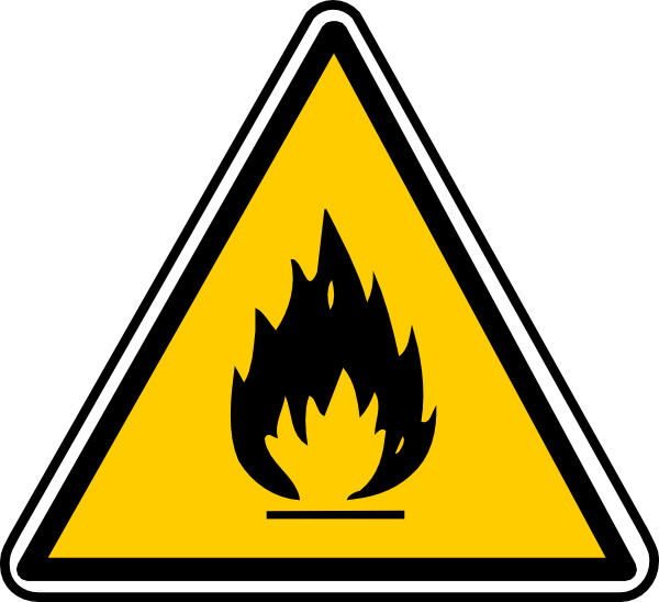 Flammable Clip Art at Clker.com - vector clip art online, royalty free ...