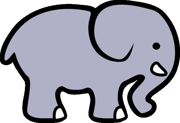 Elephant grey. Clip art at clker