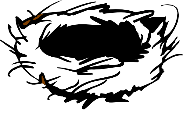 Bird nest clip art - photo#9