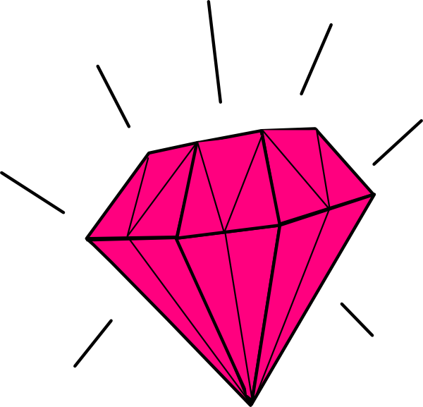 Diamant / Diamond Clip Art at Clker.com - vector clip art ...