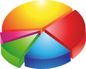 Colored Pie Chart Clip Art at Clker.com - vector clip art online ...