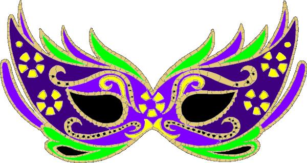 purple masquerade mask fnc clip art at clker com vector clip art rh clker com new orleans saints clipart new orleans clip art borders