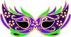 Purple Masquerade Mask - Fnc Clip Art