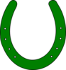 Horse Shoe Outline Clip Art