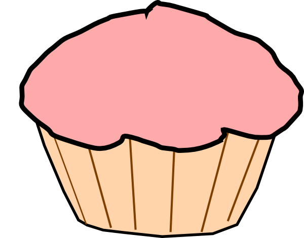 Cupcake Clipart Outline Cake Ideas and Designs