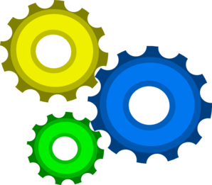 Three Gear Combo By Mark W-p Clip Art