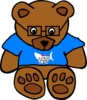 Garrett The Bear Clip Art