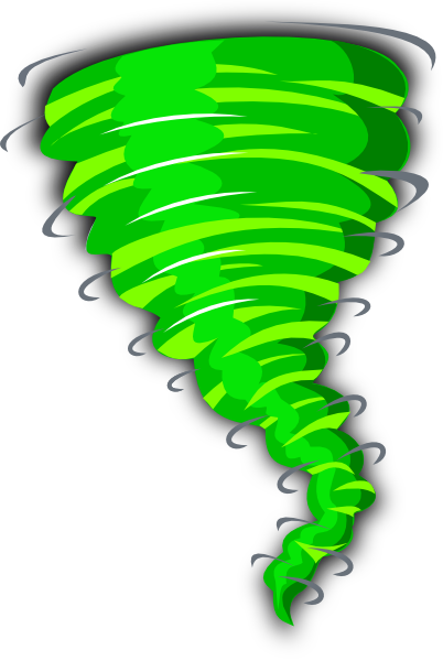 free animated tornado clipart - photo #11