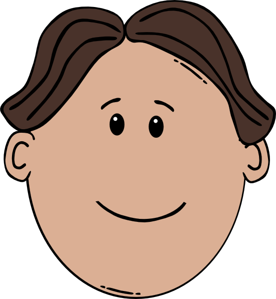 Man Face Cartoon Clip Art At Clker Com Vector Clip Art