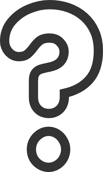 Bubble Question Mark clip artQuestion Mark Clip Art Black And White Png