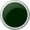 Dark Green Button Clip Art