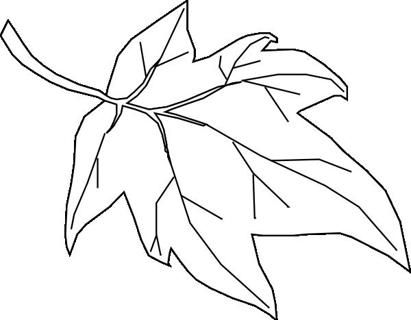 blank leaf clip art at clker com