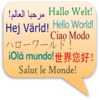 Language Greeting Clip Art