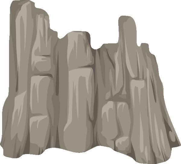 Alpine Cliff Face Skirt Clip Art At Clker Com Vector