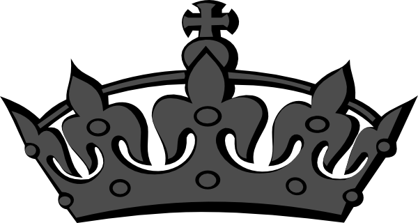 Black And White Princess Crown Princess Tiara Black And White