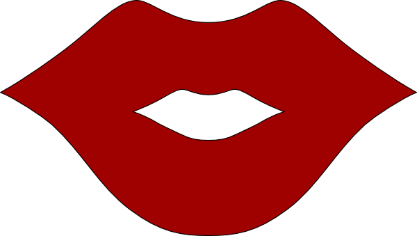 clipart of lips - photo #18