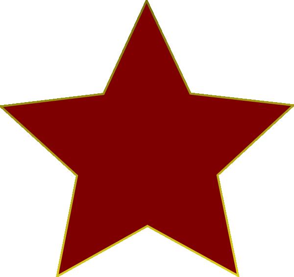 red star clip art at clker com vector clip art online royalty rh clker com red blue star clipart red christmas star clipart
