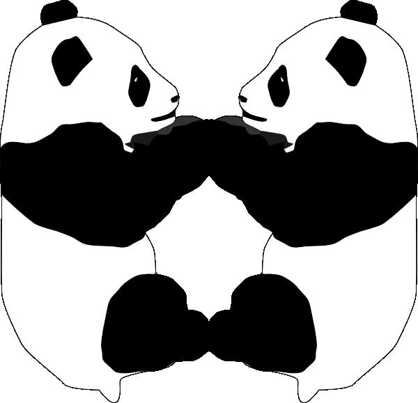 panda bear clip art at clker com vector clip art online panda bear clip art black and white panda bear clip art head and hand