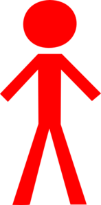 Red Man Clip Art