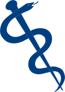 Rod Of Asclepius Connected Clip Art