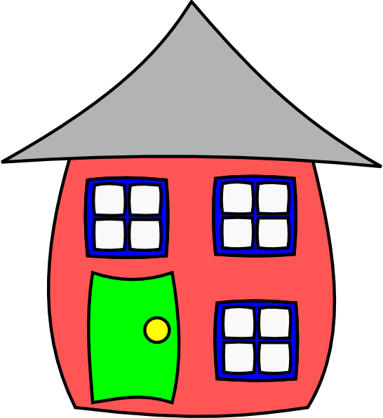 Cartoon house clip art at vector clip art for Picture of house