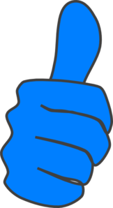 Thumbs Up Clip Art