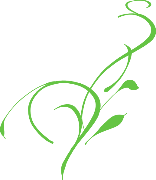 Green Lily Clip Art At Clkercom Vector Online Royalty