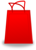 Red Shopping Bag Clip Art