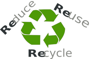 Reduce Reuse Recycle Clip Art