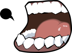 open mouth clip art at clker com vector clip art online royalty rh clker com open mouth teeth clipart open mouth clipart black and white