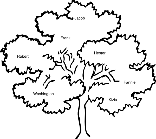Cook Family Reunion Tree Clip Art At Clker Com Vector Clip Art