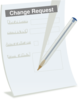 Change Request Form Clip Art